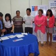 Usuarios del FOSIS iniciaron participación en proyecto de emprendimiento