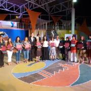 Masiva participación en el acto de conmemoración del Día Internacional de la Mujer en Tarapacá