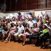 Taller de género  del Sernam reúne a trabajadores de Pesquera Camanchaca y sus esposas