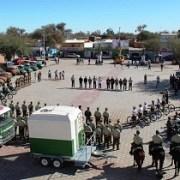 Nuevo sistema de patrullaje debuta en fiesta deLa Tirana