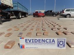 Aduanas interceptó en la avanzada de Colchane camioneta con 219 kilos de marhuana