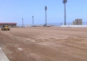 Avanzan obras en canchas destinadas al fútbol amateur