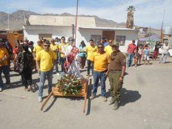 Carabineros entrega consejos preventivos a fieles en Tarapacá