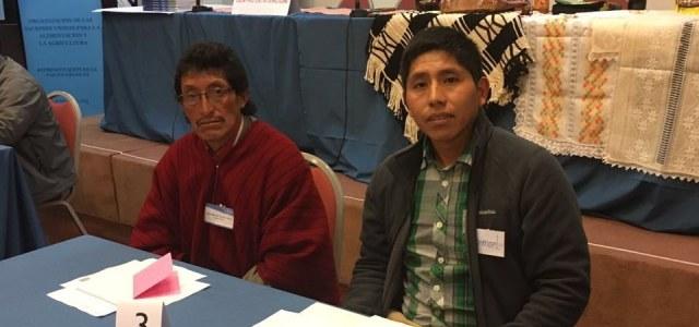Productor de quinua de Colchane se capacita en Uruguay