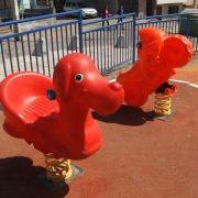 Dañan juegos infantiles en diferentes poblaciones de Iquique