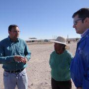 Implementan subsidios para asegurar plantaciones, sistemas de riego y conducción contra riegos como terremotos