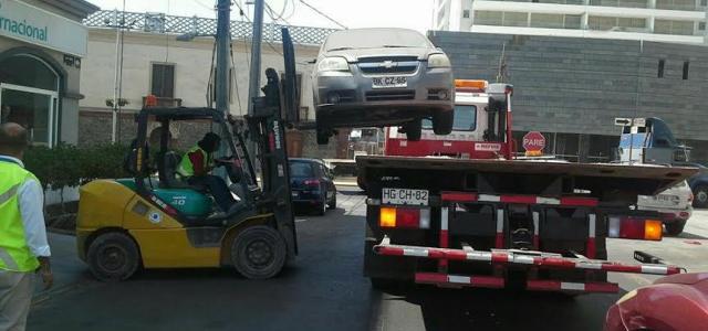 Más de 700 automóviles ya fueron retirados de las calles de Iquique