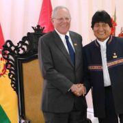 Bolivia y Perú acuerdan crear un comité para acelerar la construcción del tren bioceánico