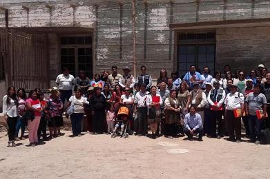 En salitrera Humberstone Fundación Agraria realiza actualización de Agenda de Innovación para Tarapacá