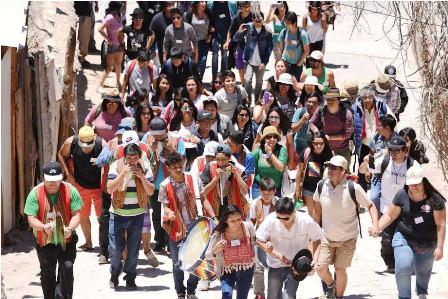 """Jóvenes indígenas se compromete masivamente """"Por la Defensa de la Madre Tierra"""""""