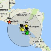 Alerta de tsunami en Centroamérica tras registrarse un terremoto de 7,2 en El Salvador
