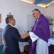 Comunidad de Los Verdes celebra bendición de Capilla Cristo Salvador