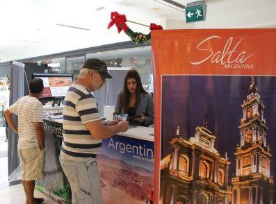 Instituto de Turismo de Salta, promociona en Iquique los atractivos de la ciudad trasandina