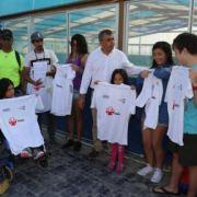 Alcalde Soria despide a 5 deportistas que viajan a Santiago a juegos paralímpicos