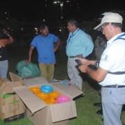 Operativo nocturno en sector de Cavancha, arroja resultados durante el fin de semana