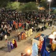 La Tirana: Unos ocho mil peregrinos y 17 bailes de pastores celebraron la Pascua de los Negros