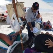 Campaña preventiva para alertar sobre la fragata portuguesa, realizaron en Cavancha