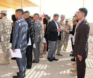 Sence certificó a soldados conscriptos como operadores de Grúa Horquilla
