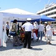 Turistas que arribaron en  Crucero Regatta, recorrieron salitreras y atractivos de la ciudad