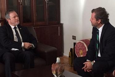 Diputado Trisotti y jefe policial abordaron materias referentes a la labor de investigación criminal de la PDI