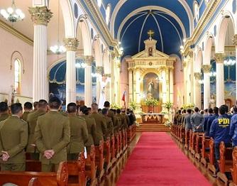 Misa solemne por el 90º aniversario de Carabineros