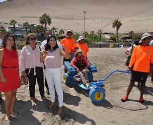Intendentas de Arica y Tarapacá firmaron convenio de colaboración para implementar Playas Inclusivas