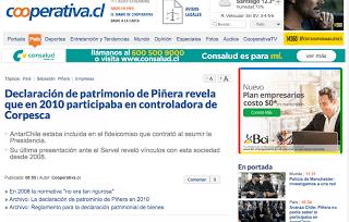 Colegio de Periodista denuncia a Piñera por presiones indebidas para eliminar nota publicada por Radio Cooperativa