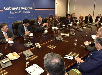 Constituyen mesa de trabajo público privada, de Comercio Internacional para Tarapacá