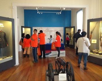 Más de mil visita recibió el Museo Histórico Militar Tarapacá en jornada patrimonial