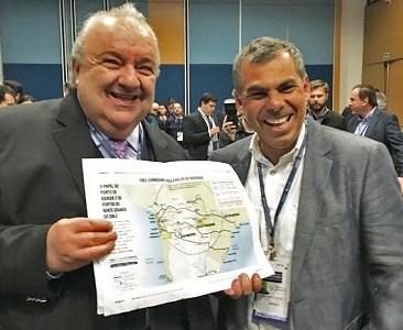 """""""Vamos por buen camino"""": Alcalde M. Soria al ser premiado en Congreso de Ciudades  inteligentes en Curitiba, Brasil"""