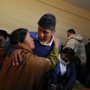 Desde Bolivia informan: Los 9 regresaron y se reencontraron con su familia