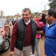Alcalde monitoreo en terreno fenómeno climático. Sin alerta amarilla, municipio no puede derivar recursos para atender emergencia