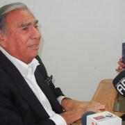 Definitivo. Jorge Soria postulará al Senado como candidato independiente e inicia recolección de firmas de adherentes