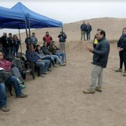 En terreno alcalde de Hospicio se reúne con 13 empresas interesadas en licitación de Cementerio