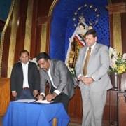 Municipios de Pozo Almonte, Iquique y Alto Hospicio firman convenio de colaboración en temas culturales