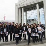 Estudiantes del Colegio Saint Margareth Rose visitan la Corte de Apelaciones de Iquique
