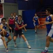Quinteto femenino de Unap se luce en las Ligas Deportivas de Educación Superior