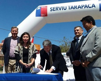 Defensoría Regional recibió terrenos para construir dependencias institucionales en Alto Hospicio