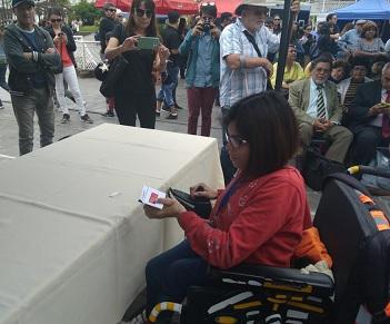 Lanzan campaña de sufragio asistido en caso de personas en situación de discapacidad