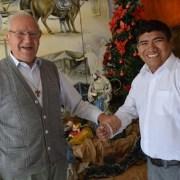Después de 30 años de vida pastoral sacerdote Pablo Dierck deja las comunidades andinas de la Región