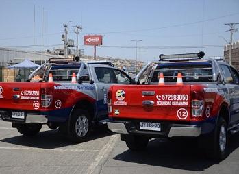 Con nuevos vehículos de seguridad ciudadana contará la Municipalidad de Alto Hospicio