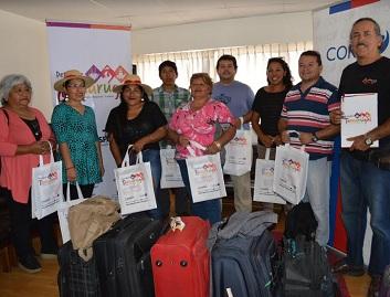 Emprendedores del Tamarugal realizan gira a Ica, Perù para conocer experiencias turísticas