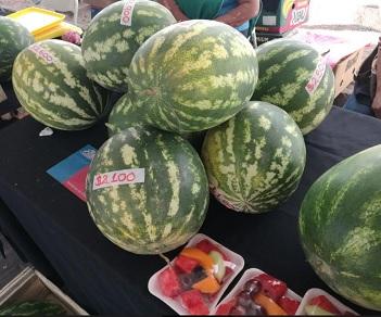 Frutas de estación se tranformaron en las protagonistas del Mercado Campesino que impulsa INDAP