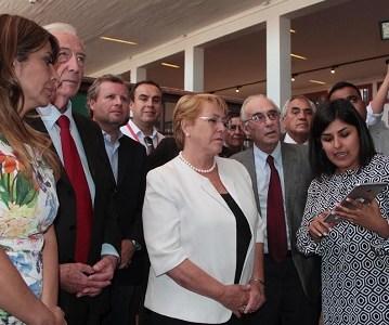 Presidenta Bachelet elogia Circuito Turístico Accesible en Salitrera Humberstone, el primero instalado en un sitio Patrimonio de la Humanidad en Chile