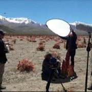 En pleno altiplano del Tamarugal inician grabaciones para Congreso Mundial de la Quinua 2019