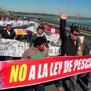 Pescadores en alerta ante posibles modificaciones de la Ley de Pesca