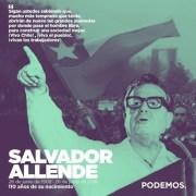 Allende: La historia la hacen los pueblos