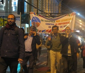 """""""Litio para Chile, no para Soquimich"""" fue la consigna en jornada de protesta en defensa de ese recurso natural"""