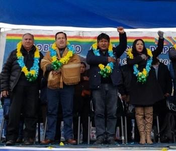 Senador Soria es reconocido en Bolivia como gestor de la integración y hermanamiento entre Oruro e Iquique