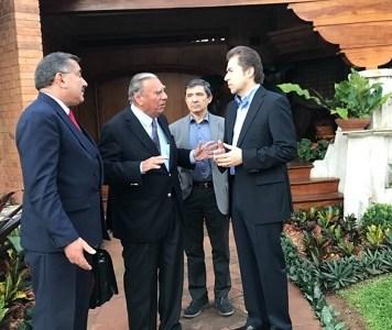 Senador Soria desarrolla actividades en República de Paraguay. Participa en Feria Agroindustrial multinacional
